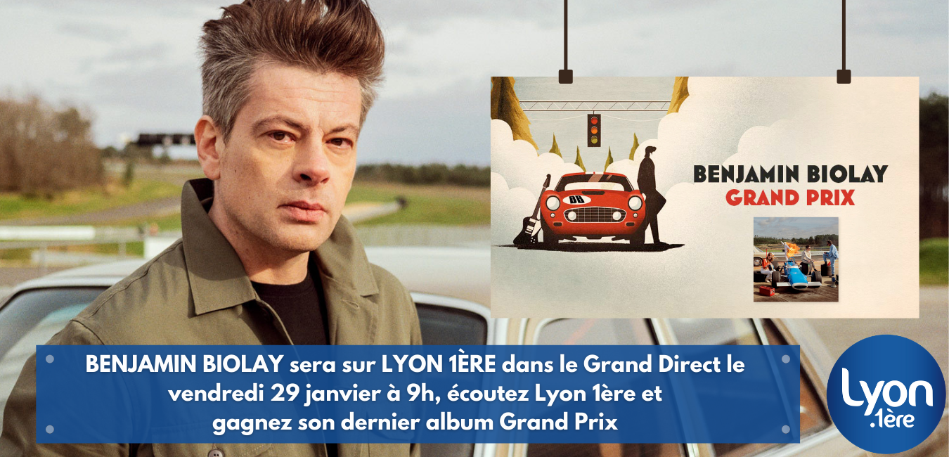 ALBUM « GRAND PRIX » BENJAMIN BIOLAY